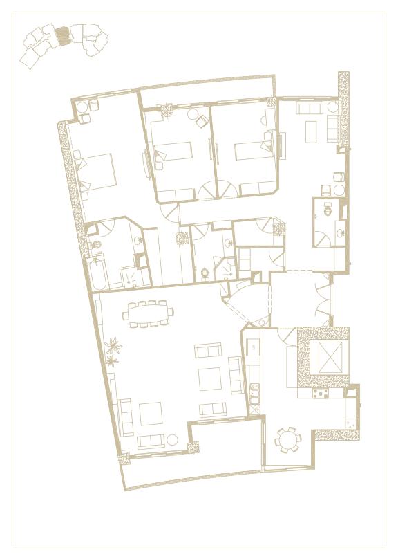 آپارتمان تیپ شماره 5