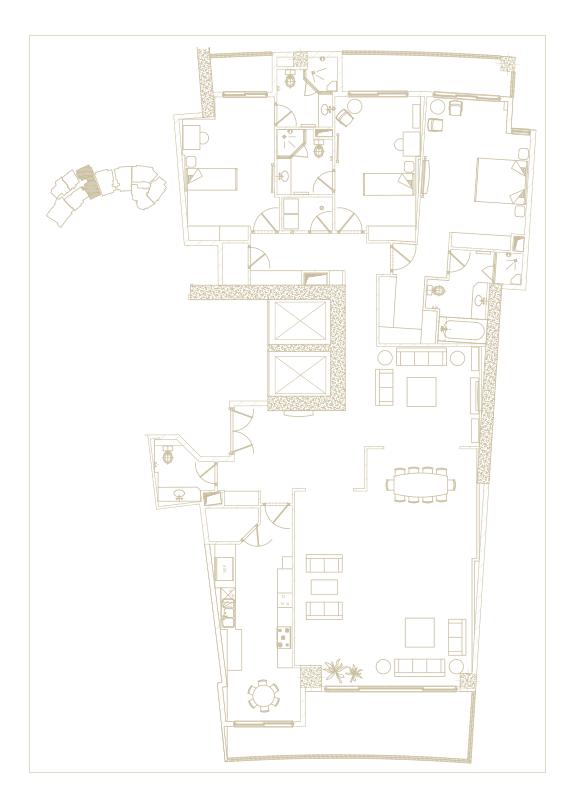 آپارتمان تیپ شماره 6
