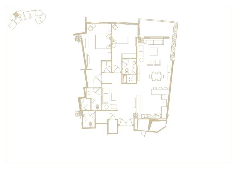 آپارتمان تیپ شماره 8